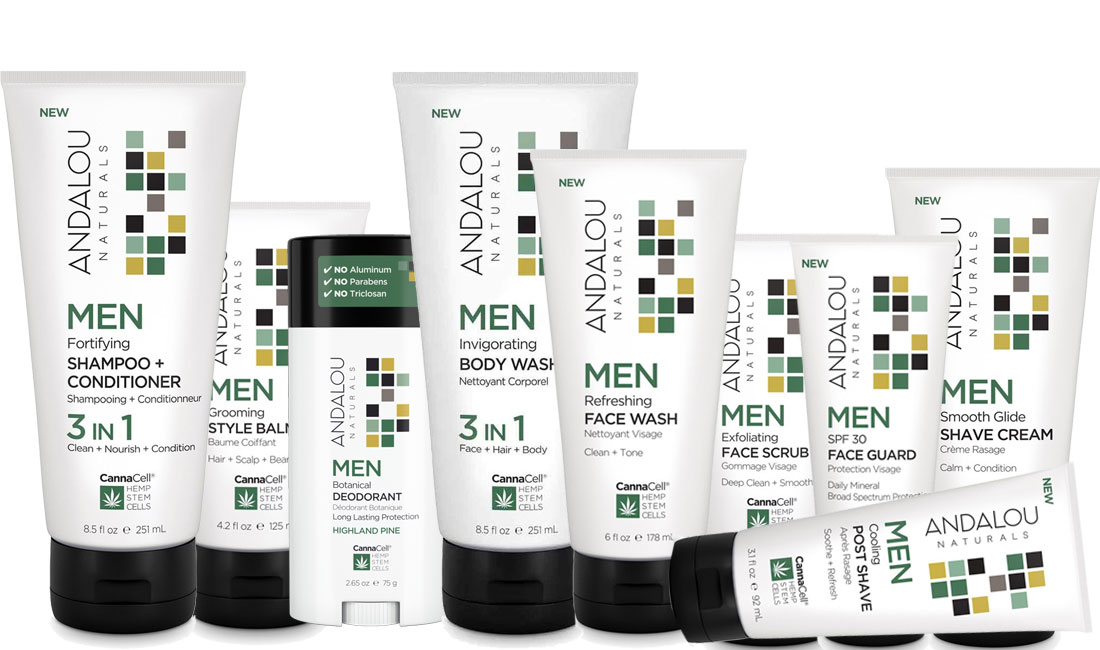 Andalou Men's Care