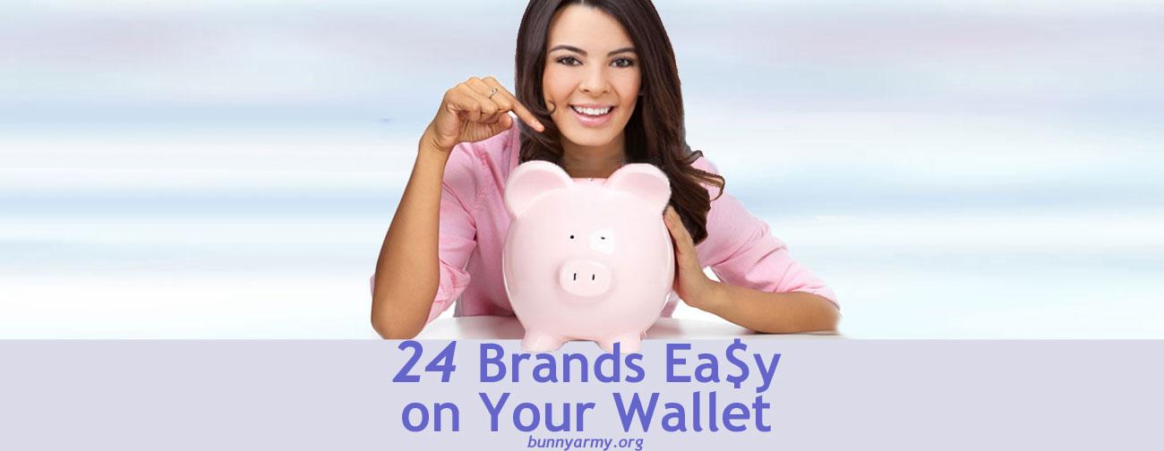 Cruelty-Free Bargain Brands