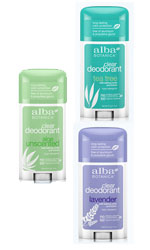 Alba Botanica Deodorants