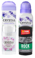 Crystal Deodorants