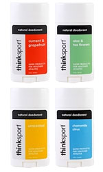 thinksport Deodorants