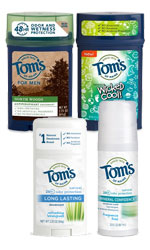 Tom's of Maine Anti-perspirants