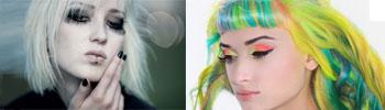 Goth & Unicorn Makeup
